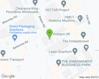Map for Autopro UK Ltd