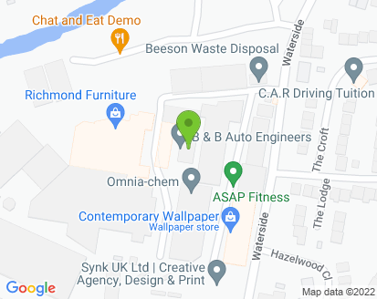 Map for B & B Auto Engineers