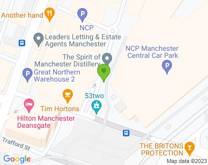 Map for Duffy Motors (Manchester) Ltd