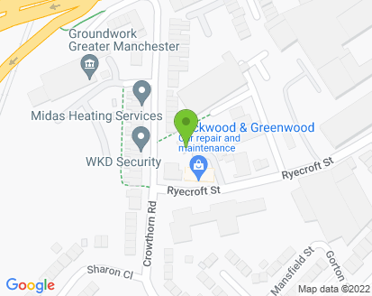 Map for Lockwood & Greenwood Ltd