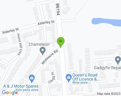 Map for Cross Garage Motors Ltd