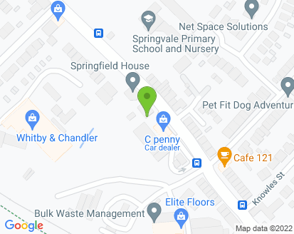 Map for J B Auto's (Penistone Ltd)