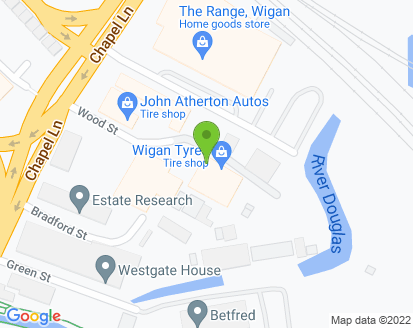 Map for John Atherton Autos Ltd