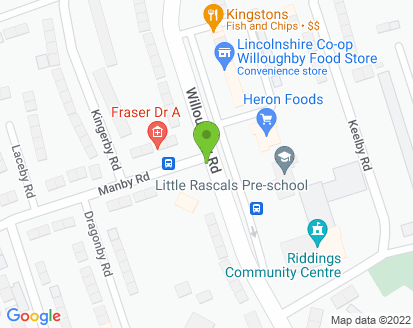Map for Riddings Service Centre