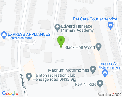 Map for Heneage Motor Company (Grimsby) Ltd