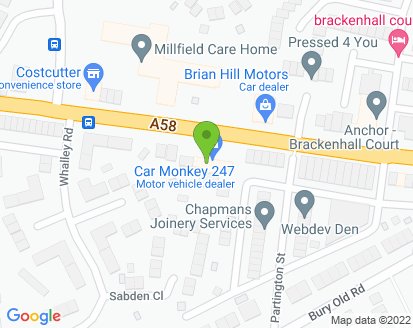 Map for Summit Service Station