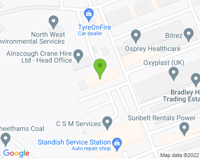 Map for Standish Service Station Ltd