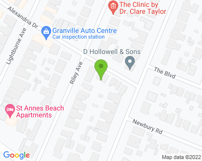 Map for Granville Auto Centre