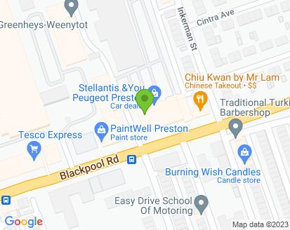 Map for Ashton Autos