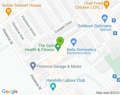 Map for BGM Motor Repairs Ltd