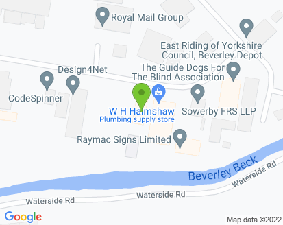 Map for Beverley Motor Works