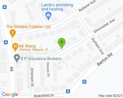 Map for D C Wilson