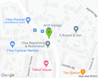 Map for MFW 66 Ltd Forge Garage