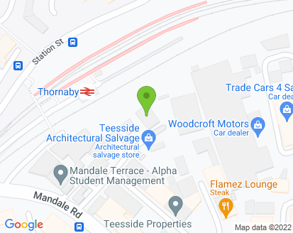 Map for Oakfields Land Rovers