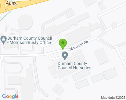 Map for North East Motorhome Repair Centre Ltd