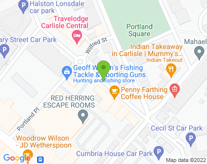 Map for Cecil Street Auto Repairs Ltd