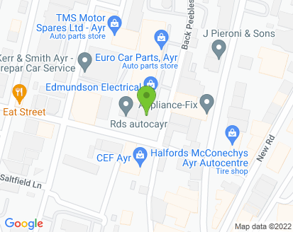 Map for RDS Autocayr Ltd