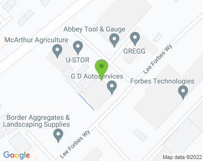 Map for G D Auto Services