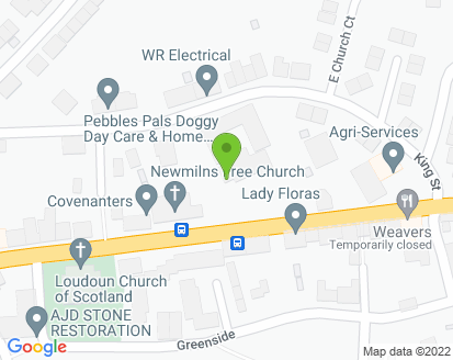 Map for Newmilns Motors