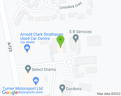 Map for Waterside Car Services