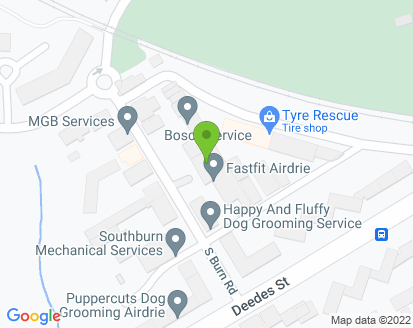 Map for Fast Fit Airdrie Ltd