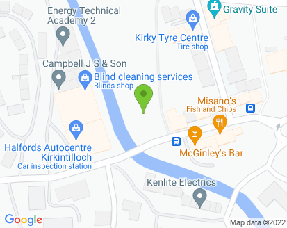 Map for Elders of Kirkintilloch Ltd