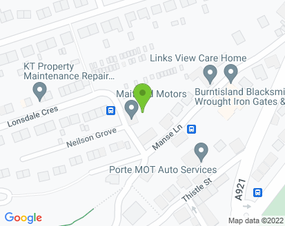 Map for Maitland Motors