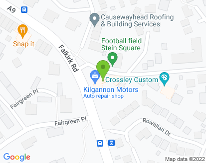 Map for Kilgannon Motors Ltd