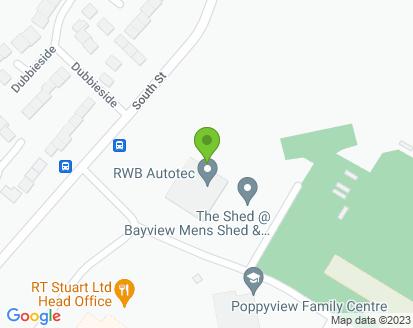 Map for RWB Autotec Ltd