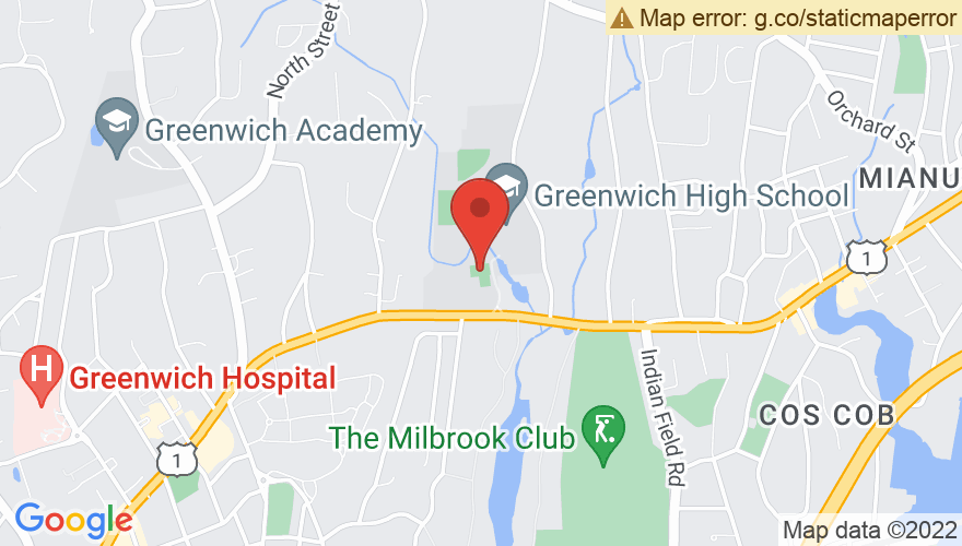 Map for Greenwich High School