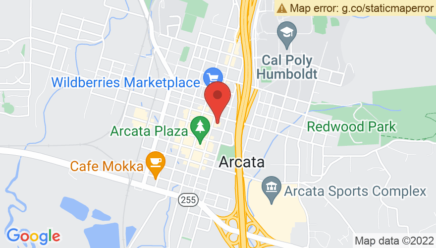 Map for Arcata Theater