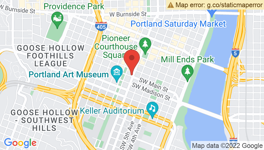 Map for Arlene Schnitzer Concert Hall