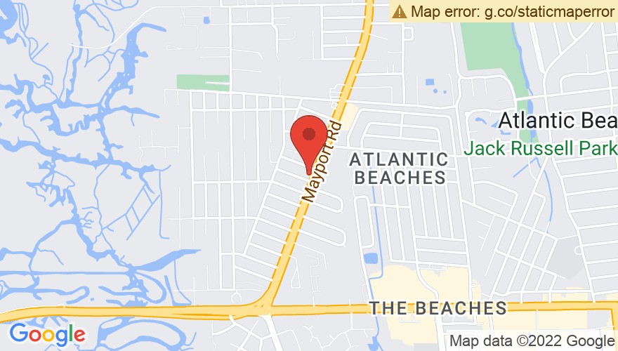 Map for Ponte Vedra Concert Hall