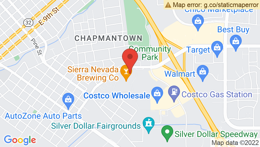 Map for Sierra Nevada Brewing Co.