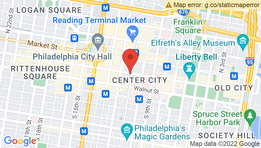 Map for Milkboy Philly