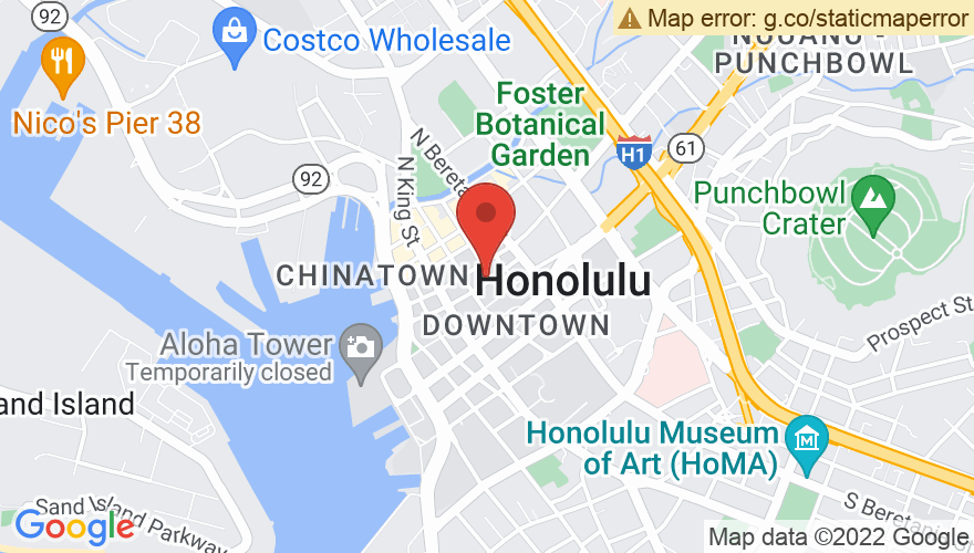 Map for Hawaii Theatre