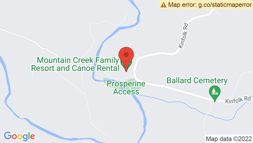 Map for Mountain Creek River Resort
