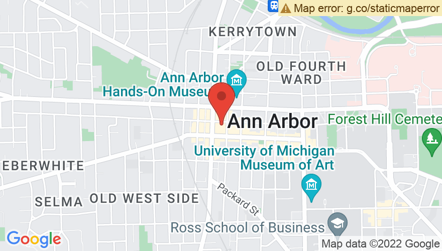 Map for Arbor Brewing Company