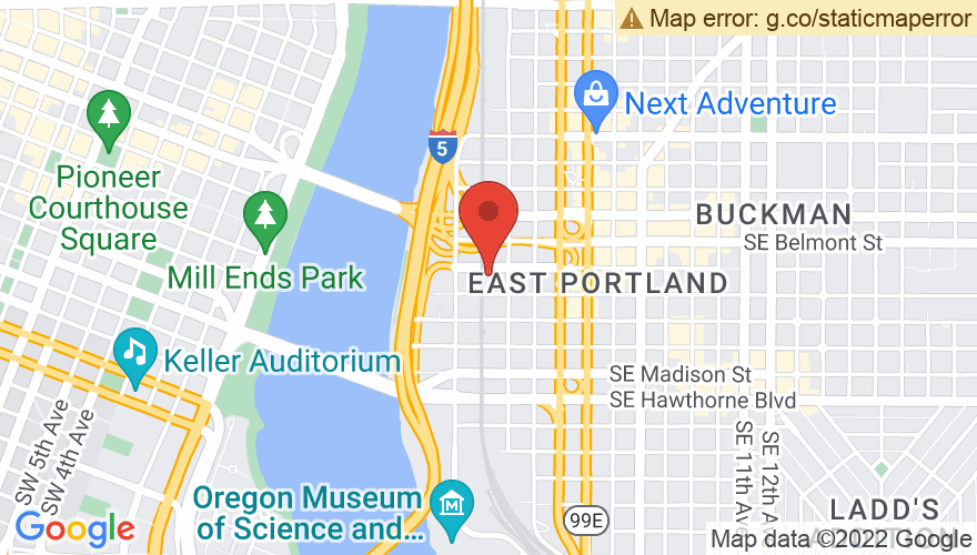 Map for Refuge PDX