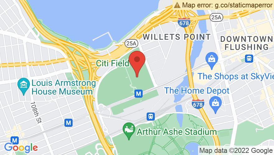 Map for Citi Field