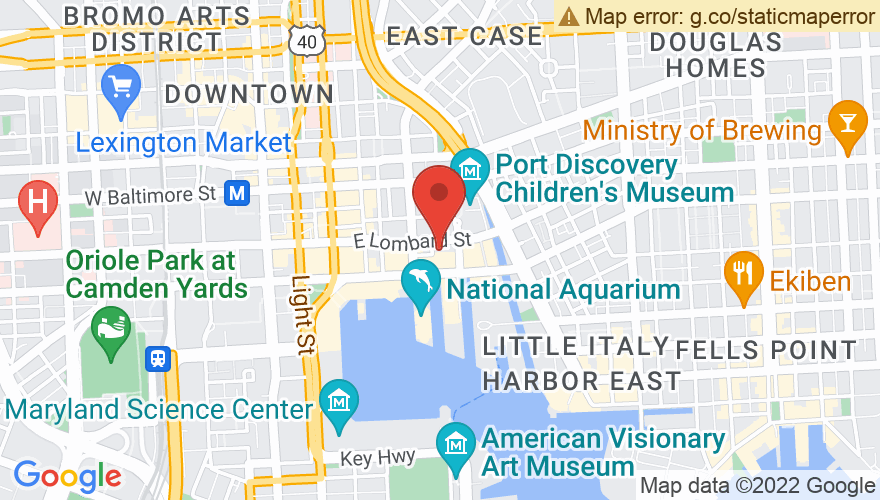Map for Baltimore Soundstage