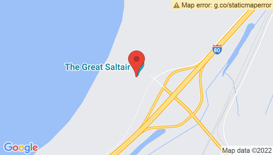 Map for The Great Saltair
