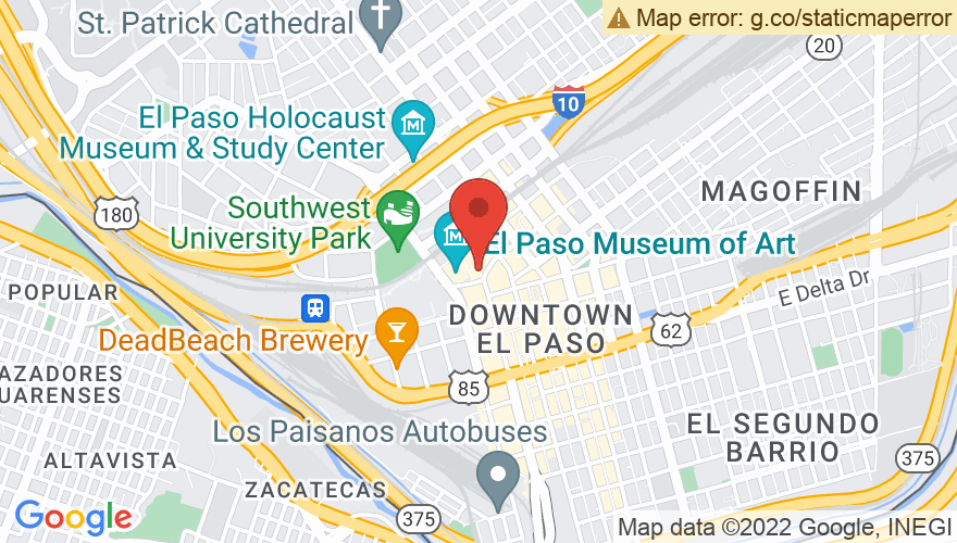 Map for Plaza Theater