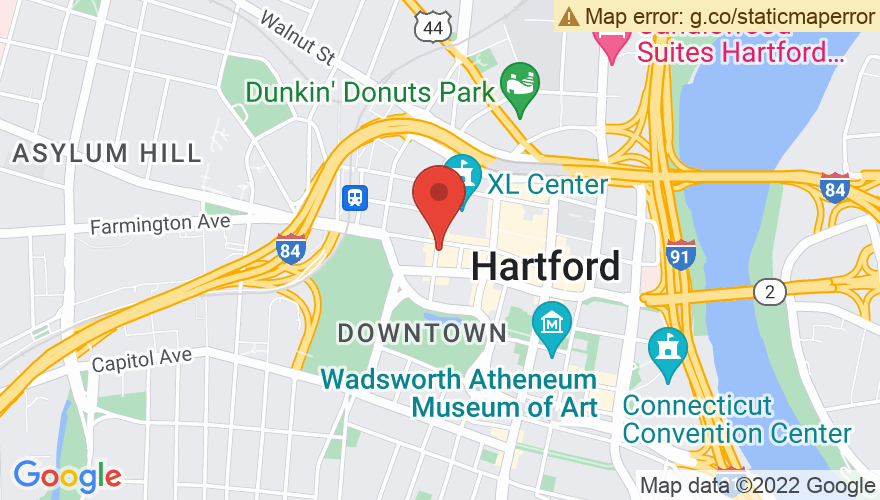 Map for The Hartford Room