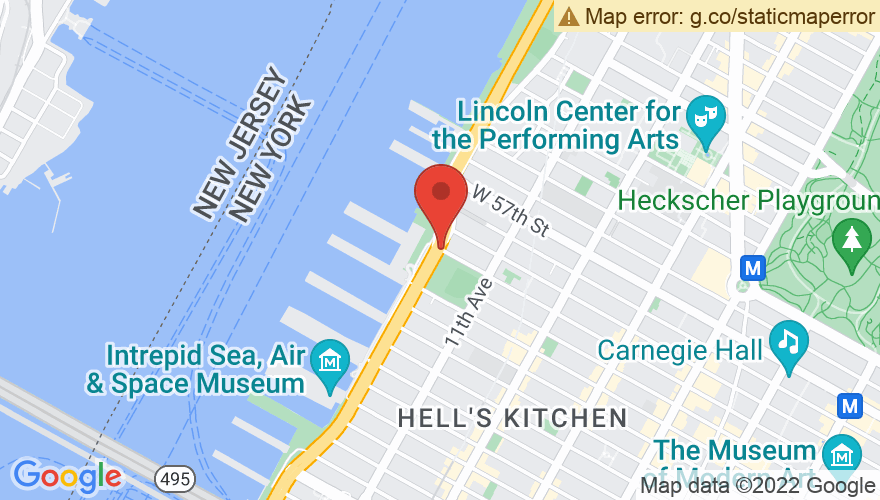 Map for Pier 94