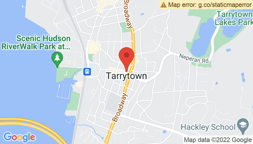 Map for Tarrytown Music Hall