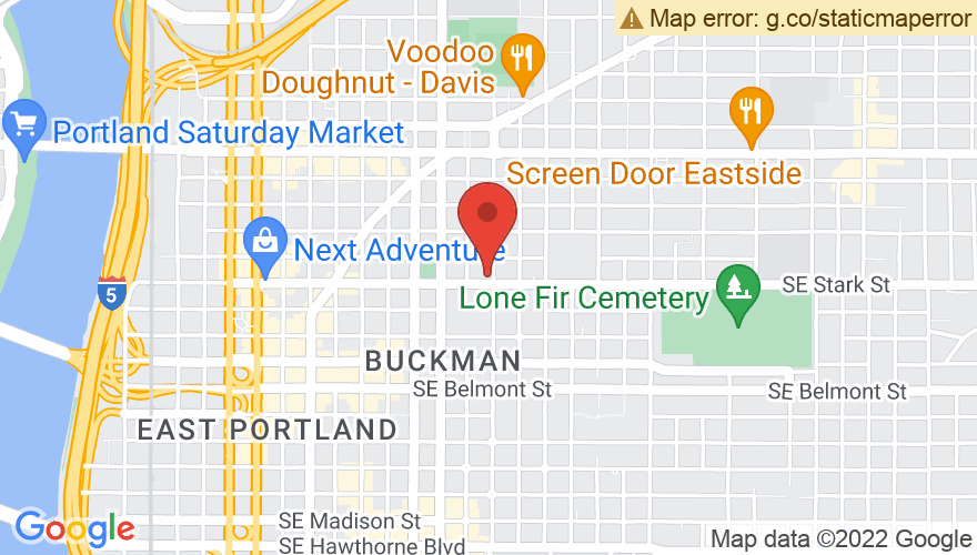 Map for Revolution Hall
