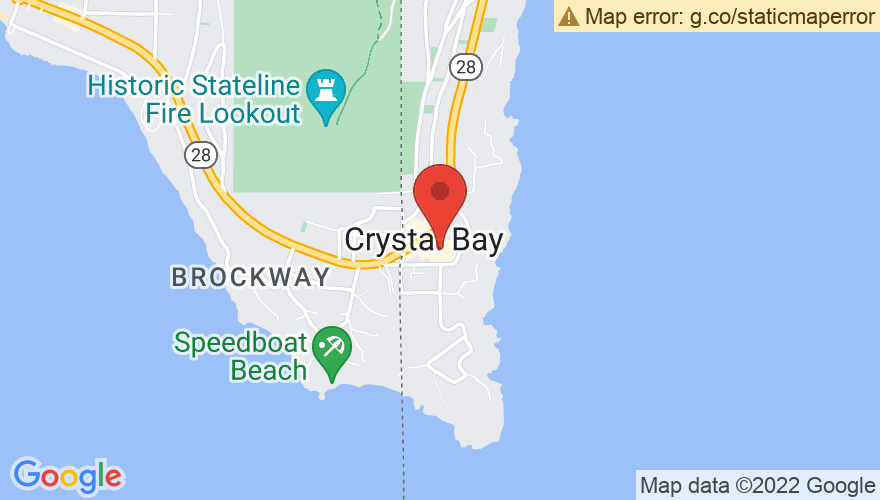 Map for Crown Room at Crystal Bay Club