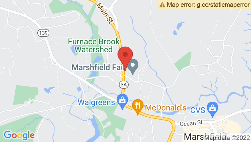 Map for Marshfield Fairgrounds