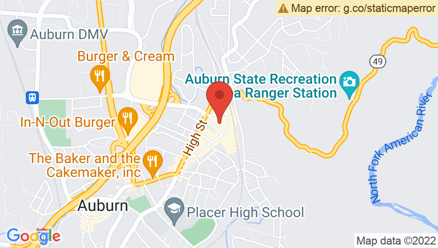 Map for Auburn Event Center